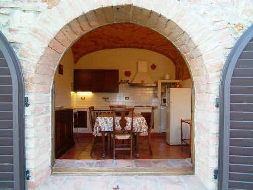 Cucina - Archi mattoni vista in cucina ...